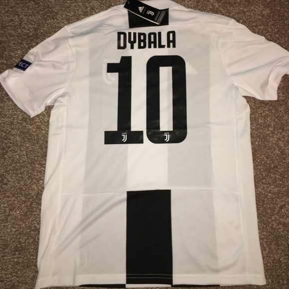 competitive price 71c5f 3c956 Juventus Home 18/19 Jersey UCL version DYBALA#10 NWT